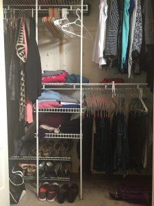 Closet Reorganiztion