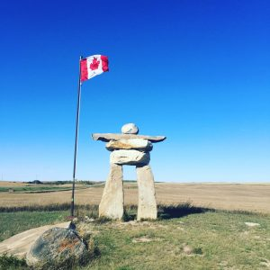 Prairie Inukshuk