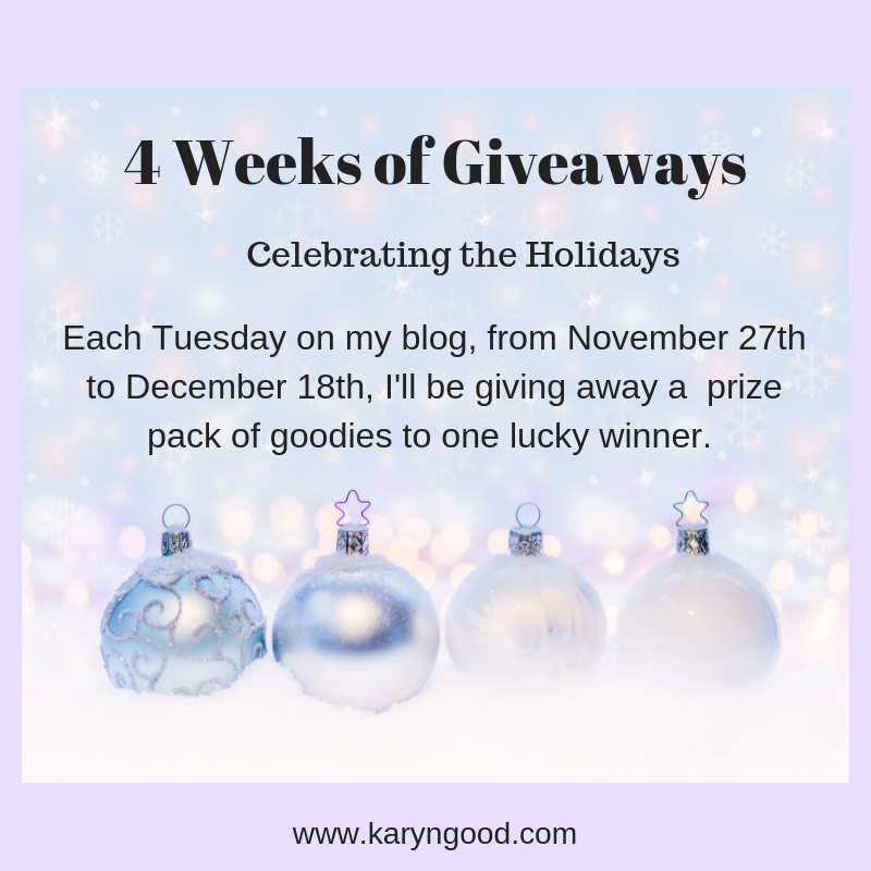 4 Weeks of Giveaways