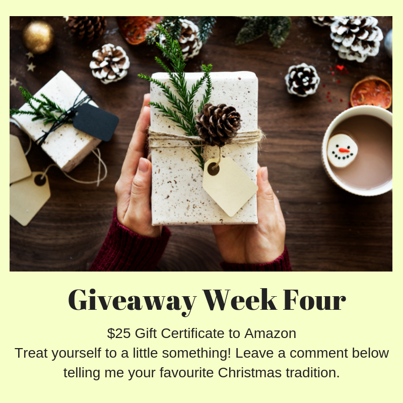 Holiday Giveaway Week 4 ($25 Gift Card to Amazon) Karyn Good Romantic Suspense Author