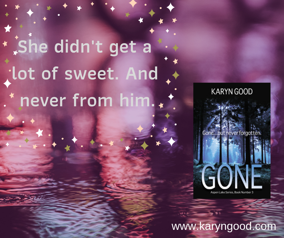 Gone, Romantic Suspense, Karyn Good