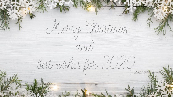 Merry Christmas and best wishes for 202
