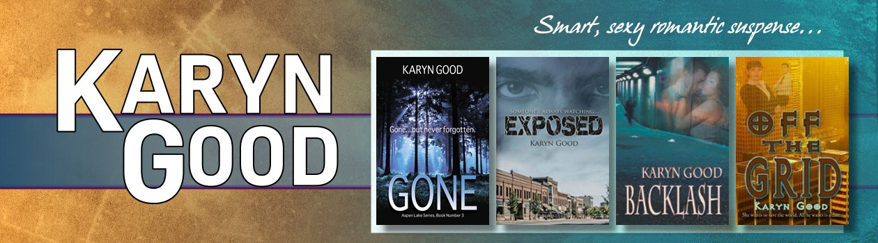 karyn good romantic suspense and romance